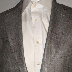 Other - Polo Ralph Lauren Grey & Blue Sport Coat 42R Excel